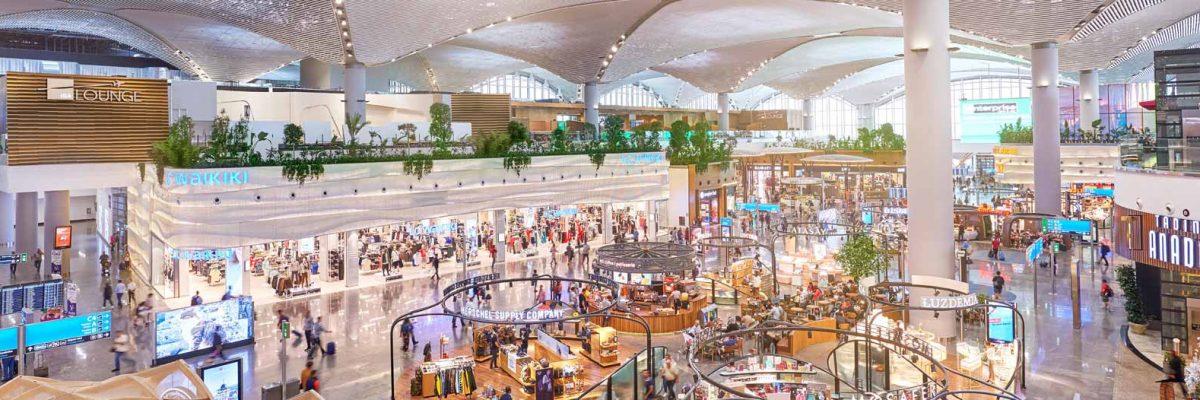 Istanbul Airport Departure Terminal Transit