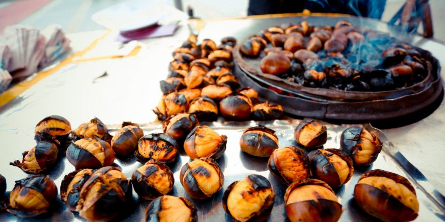 Best things to do in Istanbul - roasted chestnuts